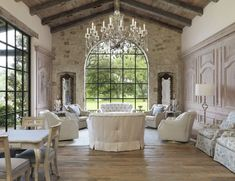 Provence Interior Design Ideas - French Style Interior with Best Photos French Country Interiors, French Country Rug, French Country Dining Room, Living Room Decor Country, French Country Decorating, French Style, Rustic French, Top Country, Cottage Decorating