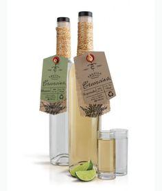 I would buy this Tequila just for the packaging. Tequila Bottles, Alcohol Bottles, Cool Packaging, Bottle Packaging, Design Packaging, Product Packaging, Design Da Garrafa, Creativity And Innovation, Granada