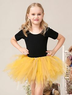 Little Girls Performance TuTu Dress Flower Girls Skirt