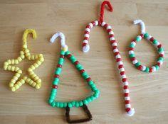 adornos navideños hechos en casa