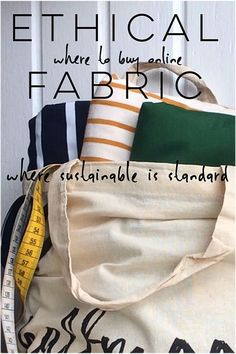 a long and growing list of where to buy Ethical Fabric Online | Halfmoon ATELIER