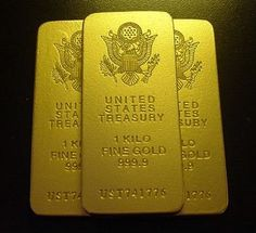 Must have a confirmed pay pal address to purchase this. Made out of dry stone, painted to look like gold. Very light compared to Buy Gold And Silver, Black Gold Jewelry, Sell Gold, Gold Bullion Bars, Silver Bullion, Silver Investing, Gold Reserve, Gold Money, Gold Stock