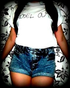 Image of Over & Out.. Model Out Tee www.RichandReckless.co.uk £13.99