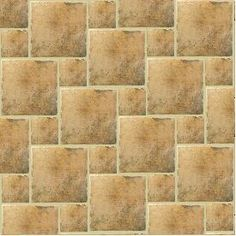 pinwheel patern. This creates the illusion of a diagonal pattern with 2  sizes of tile