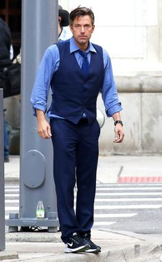 Ben Affleck, Batman  - as  Bruce Wayne on set of Batman V Superman Dawn Of Justice which releases March 25th 2016.
