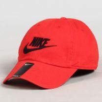 Nike -  Futura Washed H86 Cap Rouge   Disponible sur UrbanLocker.com