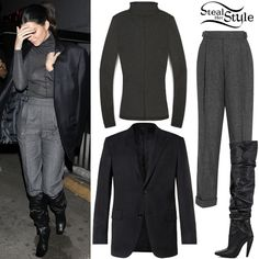 Find out where your favorite celebrities buy their clothes and how you can get their looks for less. Celebrity Piercings, Jones Fashion, Beyonce Style, Kendall Jenner Outfits, Kardashian Style, Faux Fur Jacket, Her Style, Hooded Sweatshirts, Celebrity Style