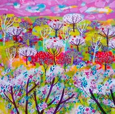 Cherry Trees - Claire West