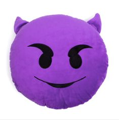 - Emoji Pillows are made with super soft plush - Filled with polyester fibres - About 33 cm/13 inches wide