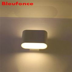 Wall Light Led Aluminum Wall Lamp for Living Room Wall Sconces indoor 90-265V Backdrop Bedside bedroom Lighting  nb 210 #Affiliate