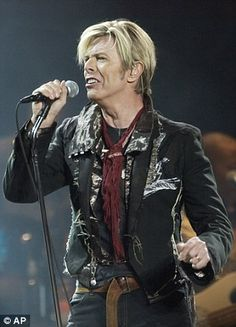 Hugely popular:Sales of David Bowie's 27 studio albums and more than 100 singles have rocketed