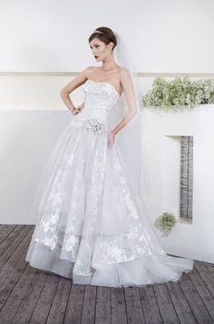 Cielo Blu 2013 - Patricia Bridal Gowns, Wedding Dresses, One Shoulder Wedding Dress, Fashion, Sky, Bride Dresses, Bride Dresses, Moda, Fashion Styles