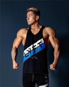 Stringer Vest Gym Wear by 1 Rep Max Bodybuilding Clothing Olive Green