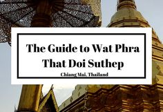 If you're going to visit one temple in Chiang Mai, you'll probably visit one of the millions of temples within the Old City because they'reeverywhere. But if you're going to visit a second temple, make sure it's Wat Phra …