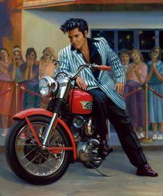 Compliments of UHL Studios. Very impressive work. Elvis the legend.