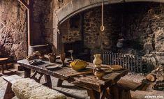 Medieval kitchen Medieval home decor Medieval houses Medieval