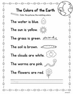 This pack is filled with quick and easy to prepare activities perfect for Earth Day. All pages are in black and white and ready to print and go!