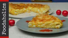 Λαχταριστή τυρόπιτα με φύλλο κρούστας στο τηγάνι!