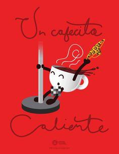 Un cafecito caliente :3