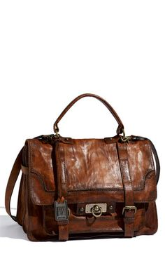 Frye 'Cameron Flap' Satchel | Nordstrom  Laptop bag with many pockets and zippers. Still chic NEEEDDD!!!