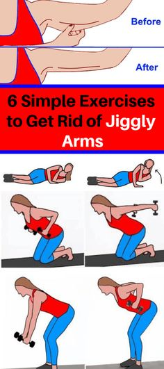 6 Simple Exercises to Get Rid of Jiggly Arms – asezeeff.site 6 Simple Exercises to Get Rid of Jiggly Arms – asezeeff. Pranayama, Fitness Tips, Fitness Motivation, Fitness Plan, Body Fitness, Health Fitness, Burn Fat Build Muscle, Flabby Arms, Easy Yoga Poses