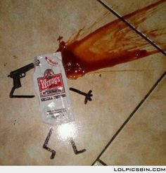 Splat...... Yet another reason to carry a sharpie at all times!!!!