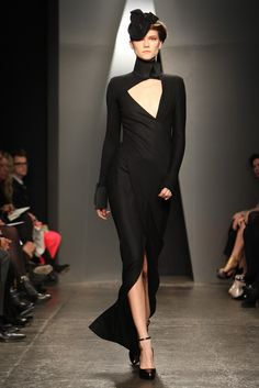 Donna Karan --- lovely dress only us flat-chested girls can wear (or is it really?)