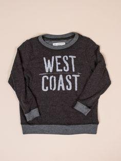 Charcoal West Coast Sweater by Sol Angeles - ShopKitson.com