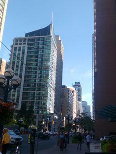 Toronto Architecture, Bay Street. Toronto Ontario Canada. TL💕