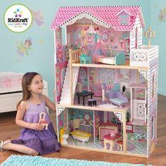 KidKraft Annabelle Dollhouse with Furniture - Walmart.com