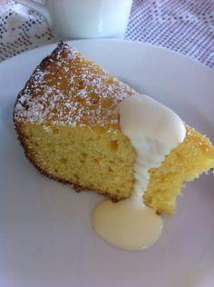 Slow cooker Orange Butter Cake