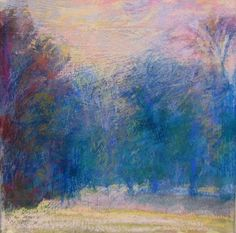 wolf kahn pastels, the most beautiful pastel art works I have seen to this day!!