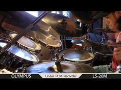 Igor Falecki drummer improv ,you tube groove VF bamboo-11 Steve Smith,style(10 y old)