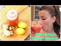 How to Lose Weight Fast | Ginger Lemon Detox Water For Fast Weight Loss - YouTube