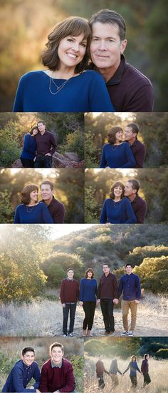 Couples with teens for a photo session Ventura County Family Photographer