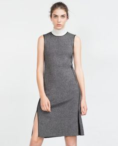 Image 2 of ROUND NECK DRESS from Zara
