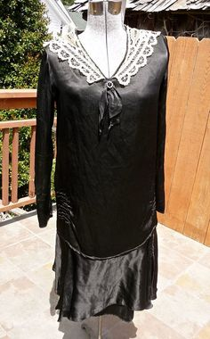 Hey, I found this really awesome Etsy listing at https://www.etsy.com/listing/105280898/antique-1920s-vintage-flapper-era-black