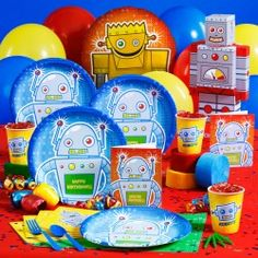 Google Image Result for http://www.thepartyanimal-blog.org/wp-content/uploads/2010/03/Robot-Birthday-Party-Supplies.jpg