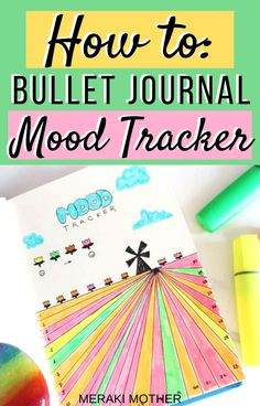 The ultimate guide to planning out your monthly mood tracker with this awesome flower field tracker idea! Bullet Journal Tracker, Bullet Journal Mood, Bullet Journal Hacks, Bullet Journal Layout, Bullet Journal Inspiration, Best Weekly Planner, Planner Tips, Happy Planner, Bullet Journal For Beginners