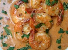 Shrimp in Chipolte Cream Sauce