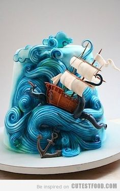 i feel like the only way to eat this is with your hands while screaming RELEASE TEH KRAKEN!! | CutestFood.com