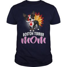 Cute Boston Terrier Mom Celebrating Thanksgiving #… Perfect Gift for Thankgivings