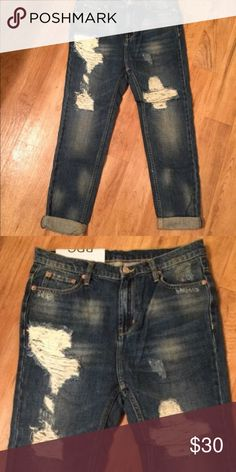 BDG boyfriend jean new sz 25 Never worn BDG Jeans Boyfriend