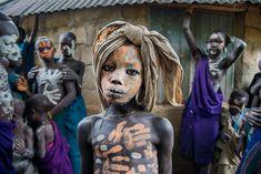 Boy from the Suri Tribe   ETHIOPIA-10405