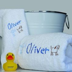 Unique personalised gifts for boys' and Girls. Gift boxed Bath towel set includes a quality personalised bath towel and face washer. Baby Boy Gifts, Gifts For Boys, Bath Towel Sets, Bath Towels, Beautiful Gifts, Personalized Baby, Cute Gifts, How To Draw Hands, Washer