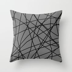 FREE SHIPPING WORLDWIDE WITH PROMO CODE: FREEFALL  |  @society6art @trebamstyle #pillow #throwpillow #freeshipping  |  Buy paucina v.2 by trebam as a high quality Throw Pillow.