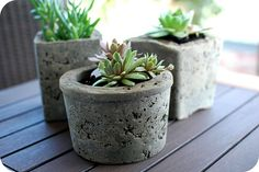 Make Hypertufa Pots