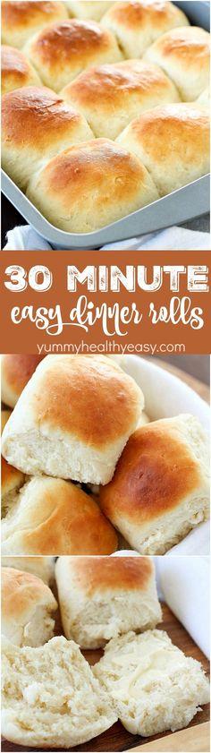 Easy Dinner Rolls th