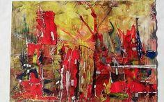 AXXI ₪ 2014 acryl on paper 30 x 40 cm