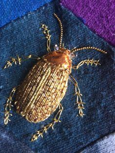 Goldwork Beetle. Book J.Nicholas MagpieGoldwork